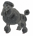 pood052 Poodle (small or large design)