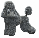 pood057 Poodle (small or large design)