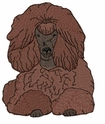 pood068 Poodle (small or large design)