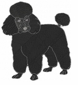 pood074 Poodle (small or large design)