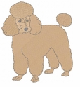 pood077 Poodle (small or large design)