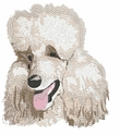 pood080 Poodle (small or large design)