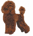 pood085 Poodle (small or large design)