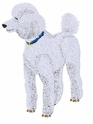 pood088 Poodle (small or large design)
