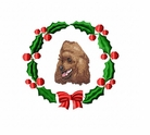 pood4wreath Poodle (small or large design)