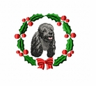 pood5wreath Poodle (small or large design)