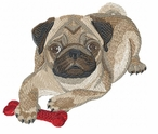 pug007 Pug   (small or large design)
