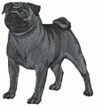 pug014 Pug   (small or large design)