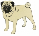 pug019 Pug   (small or large design)