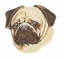 pug022 Pug   (small or large design)