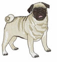 pug029 Pug   (small or large design)
