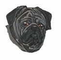 pug042 Pug   (small or large design)
