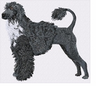 pwd007 Portuguese Water Dog (small or large design)