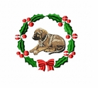 rr1wreath Rhodesian Ridgeback (small or large design)