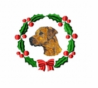 rr2wreath Rhodesian Ridgeback (small or large design)