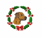 rr3wreath Rhodesian Ridgeback (small or large design)