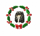 sal1wreath Saluki (small or large design)