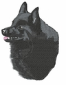 schip001 Schipperke (small or large design)