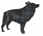 schip009 Schipperke (small or large design)