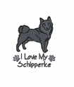 schip010 Schipperke (small or large design)