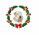 scwt1wreath Scottish Terrier (small or large design)