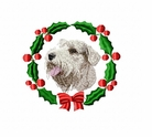 sealyham1wreath Sealyham Terrier (small or large design)