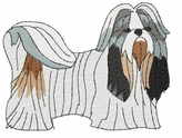 shih011 Shih Tzu (small or large design)