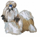 shih018 Shih Tzu (small or large design)