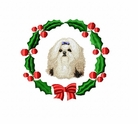 shih1wreath Shih Tzu (small or large design)