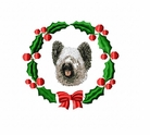 skye1wreath Silky Terrier (small or large design)