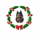 terv1wreath Belgian Tervuren (small or large design)