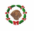 vizsla2wreath Vizsla (small or large design)