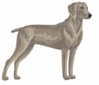 weim002 Weimaraner (small or large design)