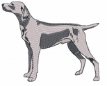 weim004 Weimaraner (small or large design)