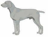 weim008 Weimaraner (small or large design)