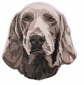 weim012 Weimaraner (small or large design)
