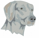 weim015 Weimaraner (small or large design)