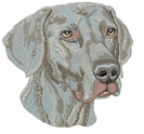 weim023 Weimaraner (small or large design)