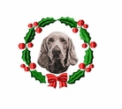 weim1wreath Weimaraner (small or large design)