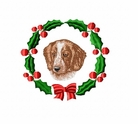 welshss1wreath Welsh Springer Spaniel (small or large design)