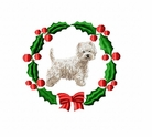 whwt1wreath West Highland White Terrier (small or large design)