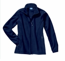 Women's Fleece Jacket with small or large design