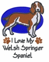 wss002 Welsh Springer Spaniel (small or large design)