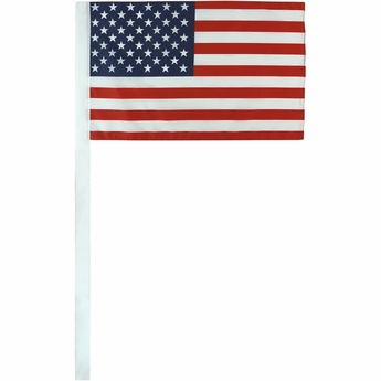 "12"" X 18"" US Antenna Flag"