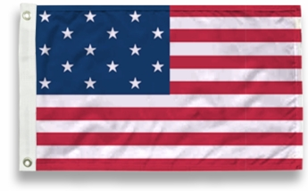 15 Star US Flags