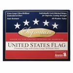 Gift Boxed 2 1/2' X 4' Signature Series US Flag
