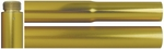 2-Piece 8 ft. x 1 in. Gold Aluminum Flag Pole