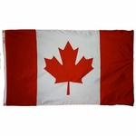 Nylon Canada Flags - Several Sizes