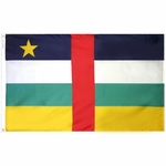 2' X 3' Nylon Central African Republic Flag