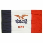 2' X 3' Nylon Iowa State Flag
